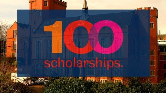 Sheffield University 100 Scholarships