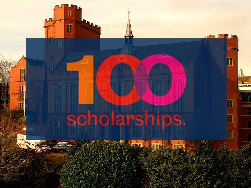 Sheffield University 100 Scholarships