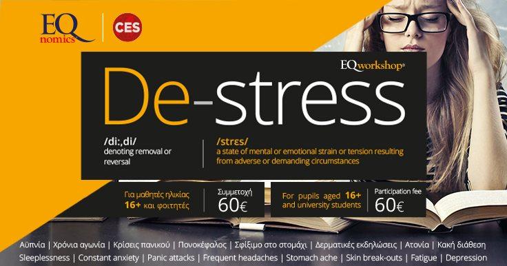 De-stress workshop